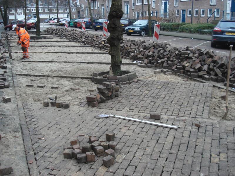 Ambachtelijk straatwerk onder de hamer Amsterdam